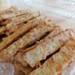 Karulaugupesto-juustuküpsised