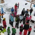 Lõbus talvepäev Kõrvemaal