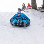 snowtubbing at Kõrvemaa
